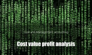 Cost Volume Profit analysis – Formulas
