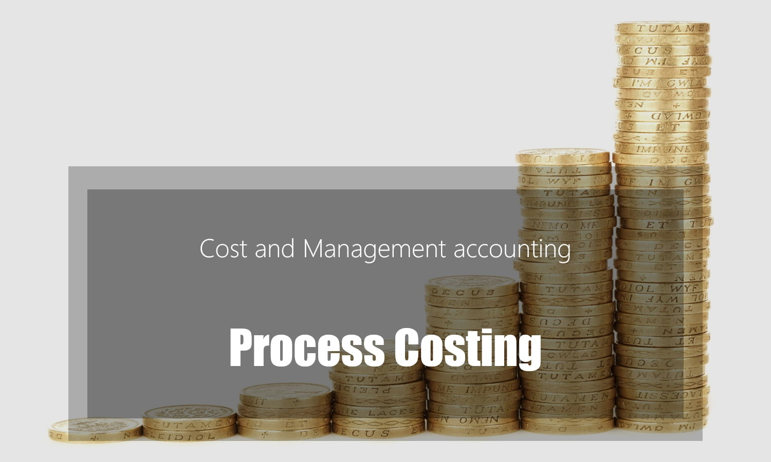 Process Costing – steps with examples