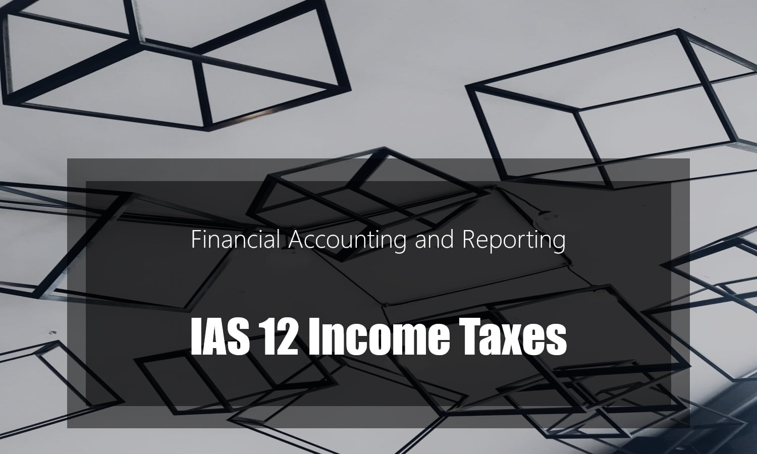 IAS 12 Income Taxes – Deferred tax examples – PDF