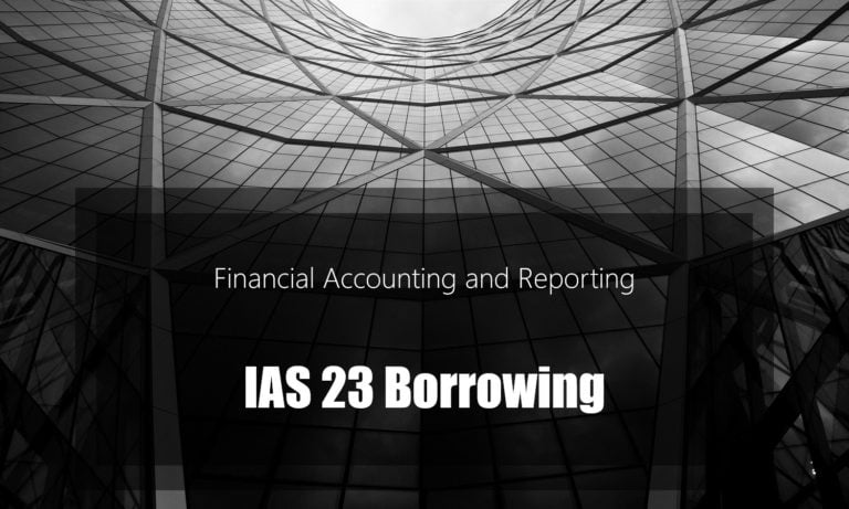 IAS 23 Borrowing Costs