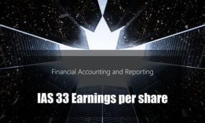IAS 33 Earnings per share